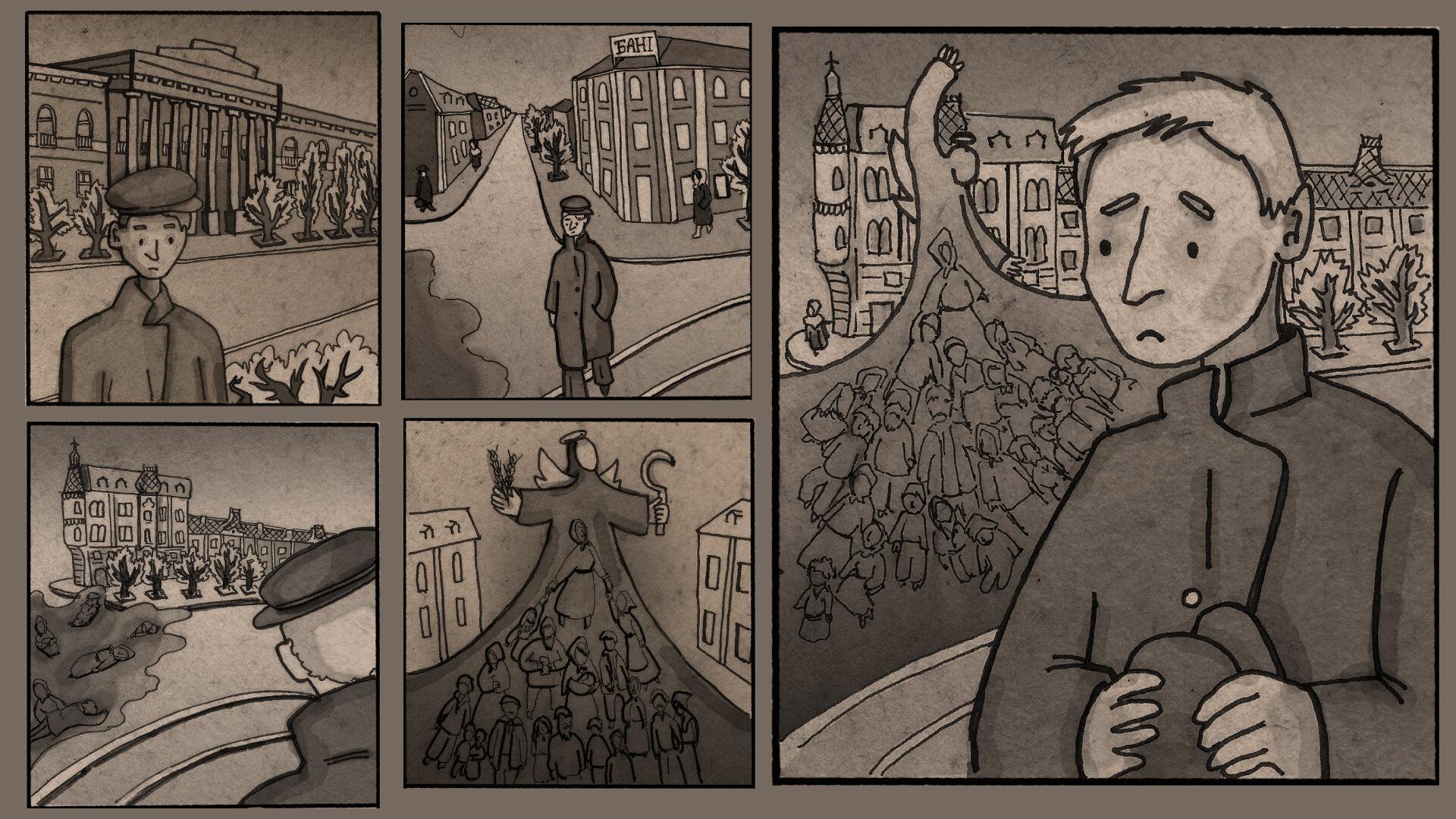 (Не) складна історія: перший український комікс про Голодомор